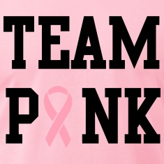 Team Pink Breast Cancer Awareness T-Shirts