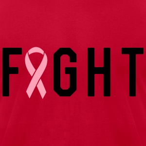 Fight Breast Cancer T-Shirts - Men's T-Shirt by American Apparel