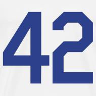Design ~ Jackie Robinson 42 Heavyweight T Shirt