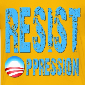 Resist Oppression Anti Obama Kids' Shirts - Kids' Premium T-Shirt