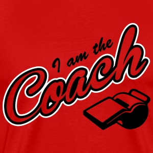 I am the Coach T-Shirts - Men's Premium T-Shirt