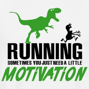 Running - sometimes you need motivation T-Shirts - Men's Premium T-Shirt