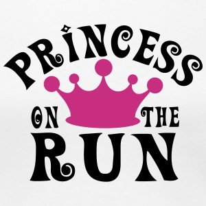 Princess on the run Women's T-Shirts - Women's Premium T-Shirt