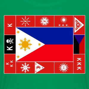 Philippine Flags Kids Filipino Tshirt - Kids' Premium T-Shirt