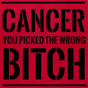 Cancer. You picked the wrong bitch T-Shirts - Men's T-Shirt by American Apparel