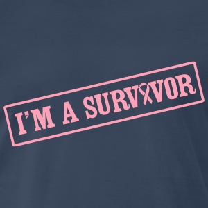 I'm a Survivor Box T-Shirts - Men's Premium T-Shirt