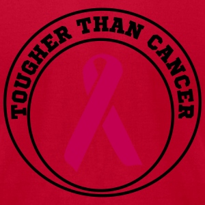 Tougher than cancer T-Shirts - Men's T-Shirt by American Apparel
