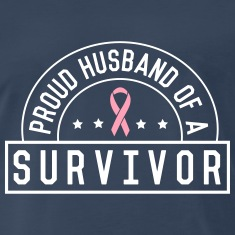 Proud Husband of a Survivor T-Shirts