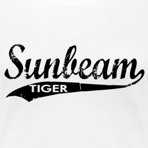 Sunbeam Tiger Cars Women's T-Shirts - Women's Premium T-Shirt