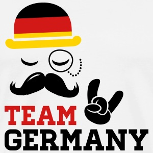 Team Germany German Deutschland Deutsch style flag T-Shirts - Men's Premium T-Shirt