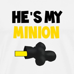 He's my Minion - Men's Premium T-Shirt