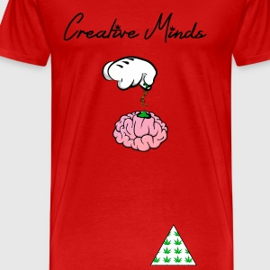 Creative Minds  - Men's Premium T-Shirt