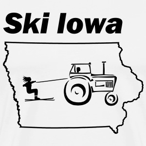 Ski Iowa T-Shirts - Men's Premium T-Shirt