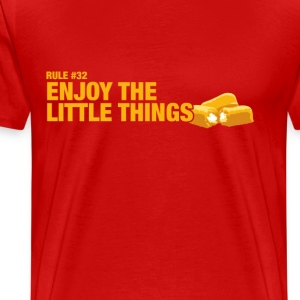 Zombieland - Rule #32: Enjoy the little things' - Men's Premium T-Shirt