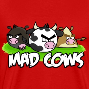Mad Cows Men's Tee - Men's Premium T-Shirt