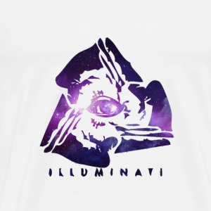 The Illuminati Galaxy - Men's Premium T-Shirt