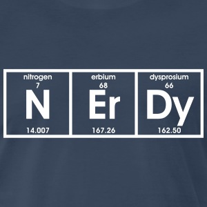Nerdy Elements - Men's Premium T-Shirt
