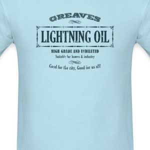 Dishonored - 'Greaves Lightning Oil' - Men's T-Shirt