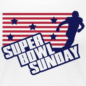 Super Bowl Sunday Women's T-Shirts - Women's Premium T-Shirt
