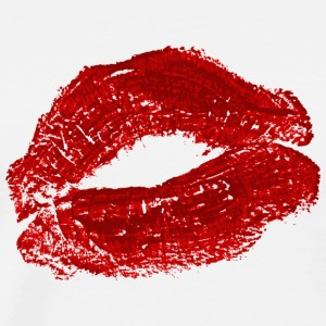 Lipstick Kiss - Men's Premium T-Shirt