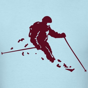ski freerider T-Shirts - Men's T-Shirt