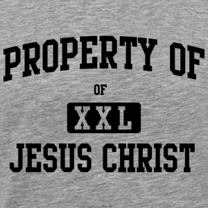 Property of Jesus Christ T-Shirts - Men's Premium T-Shirt