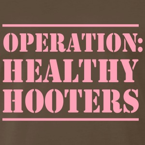 Operation Healthy Hooters T-Shirts - Men's Premium T-Shirt