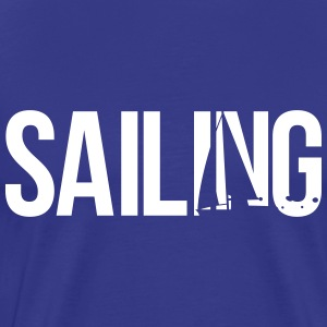 sailing T-Shirts - Men's Premium T-Shirt
