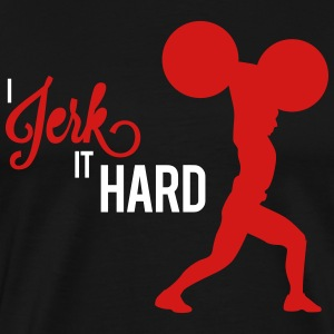 Hard Jerk Tee (Black) - Men's Premium T-Shirt