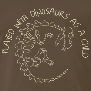 Played with Dinosaurs as a Child T-Shirts - Men's Premium T-Shirt