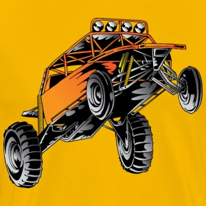 Orange Race Desert Buggy T-Shirts - Men's Premium T-Shirt