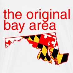 maryland: the original bay area T-Shirts