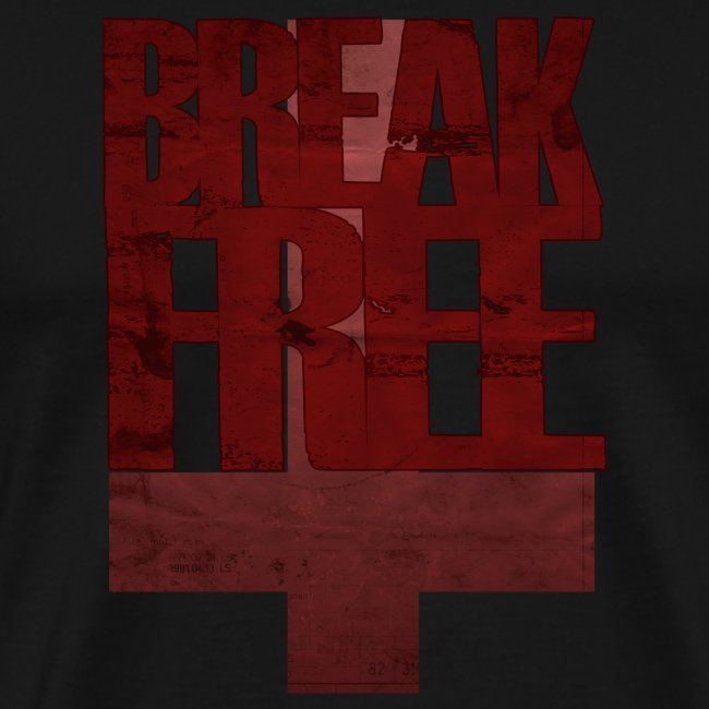 Break Free tee - black