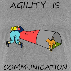 Agility Is - Communication Women's T-Shirts - Women's Premium T-Shirt