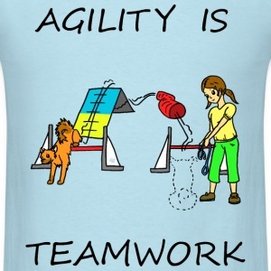 Agility Is - Teamwork T-Shirts - Men's T-Shirt