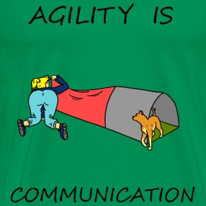 Agility Is - Communication T-Shirts - Men's Premium T-Shirt
