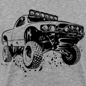 Off-Road Race Truck T-Shirts - Men's Premium T-Shirt
