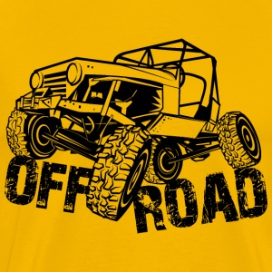 Rock Crawler Jeep - Men's Premium T-Shirt