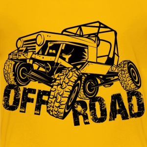 Off-Road 4x4 Jeep - Kids' Premium T-Shirt