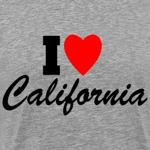 I Love California! T-Shirts - Men's Premium T-Shirt