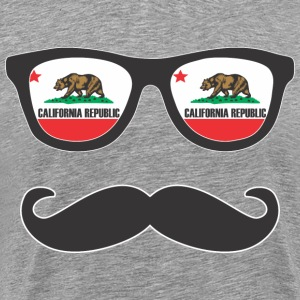Mr Mustache California T-Shirts - Men's Premium T-Shirt