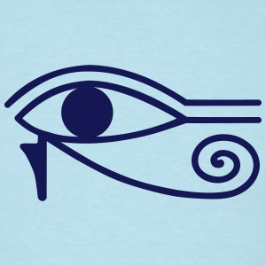 oudjat Eye of Horus T-Shirts - Men's T-Shirt