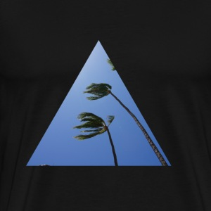 palm hipster triangle T-Shirts - Men's Premium T-Shirt