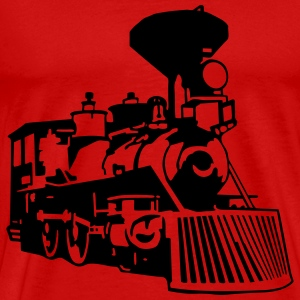 locomotive T-Shirts - Men's Premium T-Shirt
