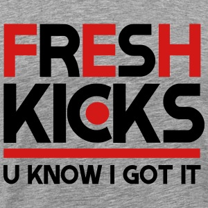 fresh kicks T-Shirts - Men's Premium T-Shirt