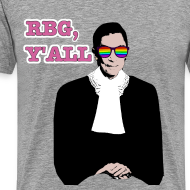 Design ~ RBG Y'All Rainbow Sunglasses (Men's T)