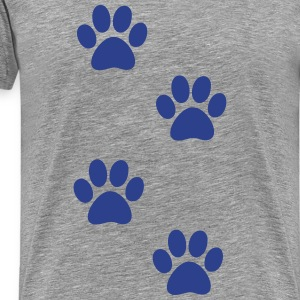 paws T-Shirts - Men's Premium T-Shirt