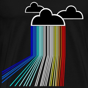 rainbow cloud T-Shirts - Men's Premium T-Shirt