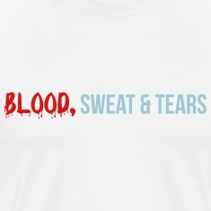 blood sweat tears T-Shirts