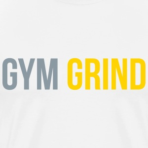 gym grind T-Shirts - Men's Premium T-Shirt